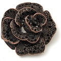 Styled by Tori Spelling (TM) Rose Pendant-Copper W/Black Accents 1/Pkg