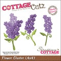 "CottageCutz Die 4""X4""-Flower Cluster Made Easy"