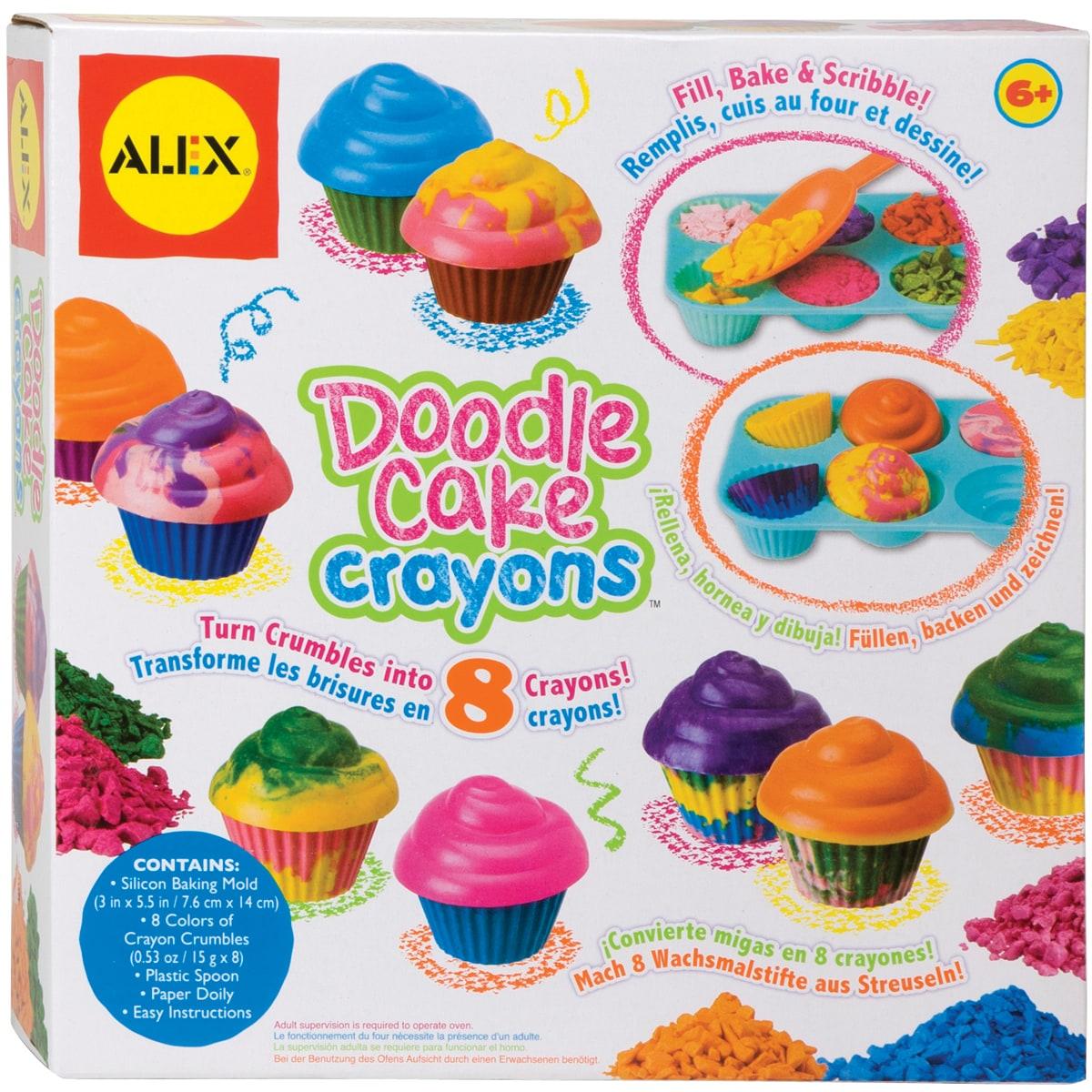 Doodle Cake Crayons Kit-