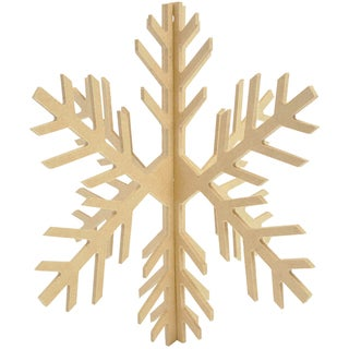 Beyond The Page MDF Dimensional Slot Snowflake-8.5