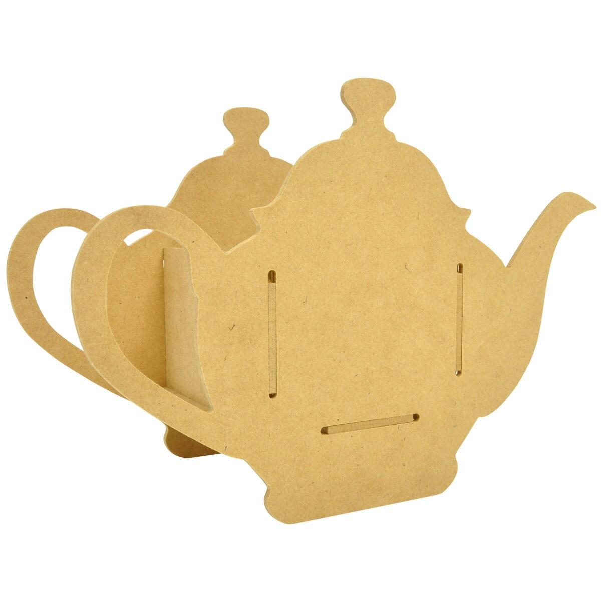 "Beyond The Page MDF Teapot Party Favour-9""X6.5""X4"""