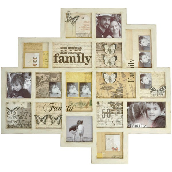 Beyond The Page MDF Abstract Memory Frame-25.5in X 23.5in X .5in