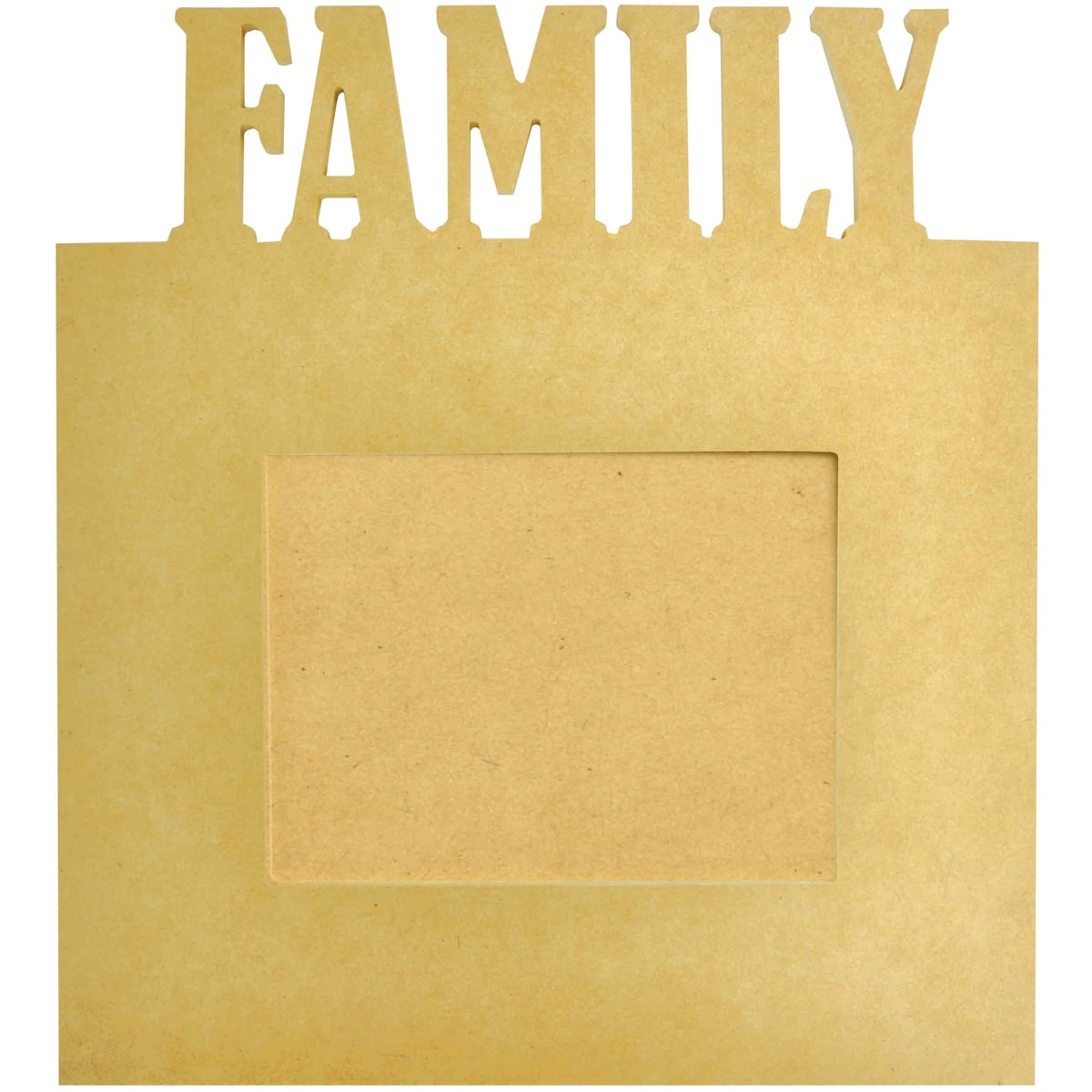 "Beyond The Page MDF Family Frame-13.5""X15""X.5"""
