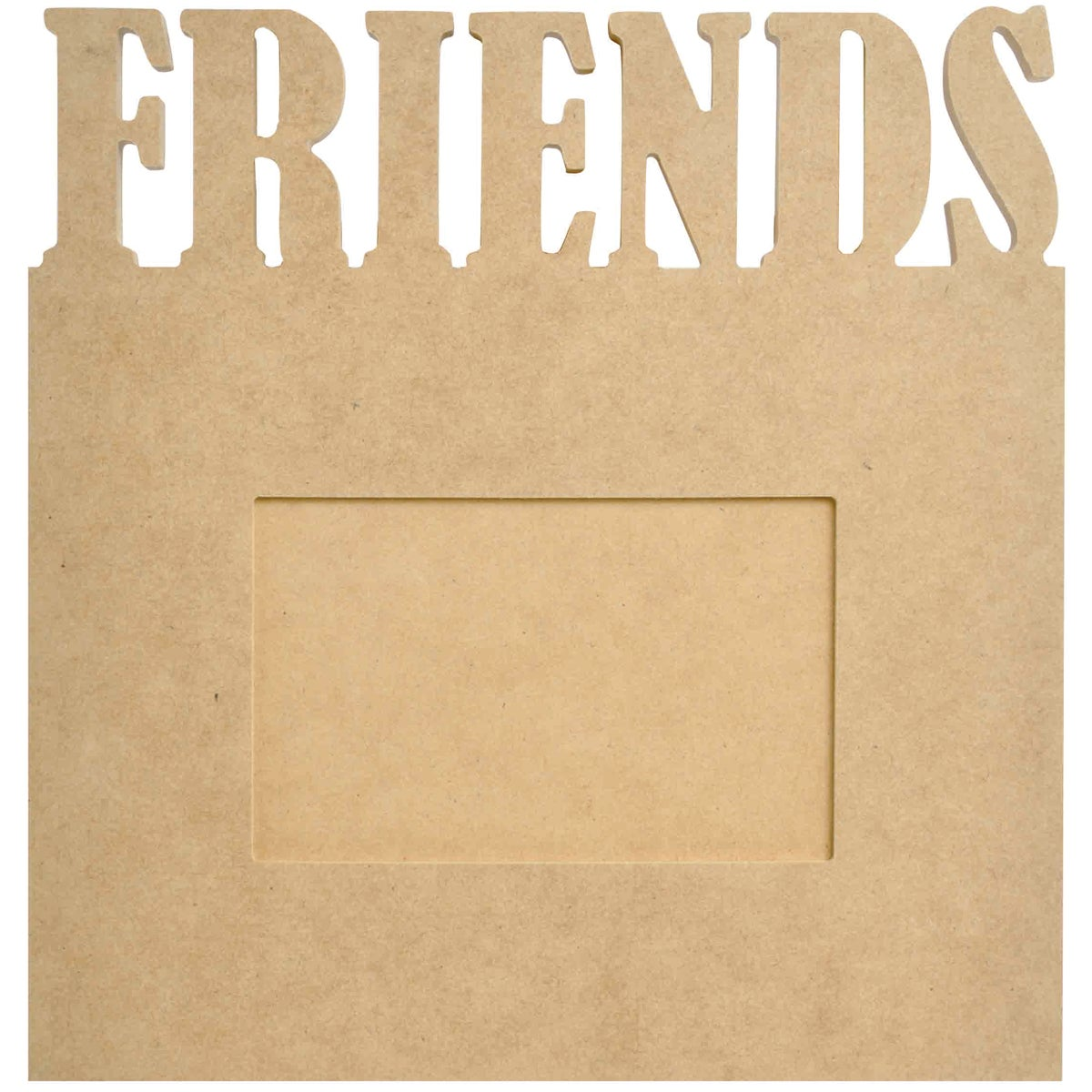 """Beyond The Page MDF Friends Frame-9.5""""X10""""X.5"""""""