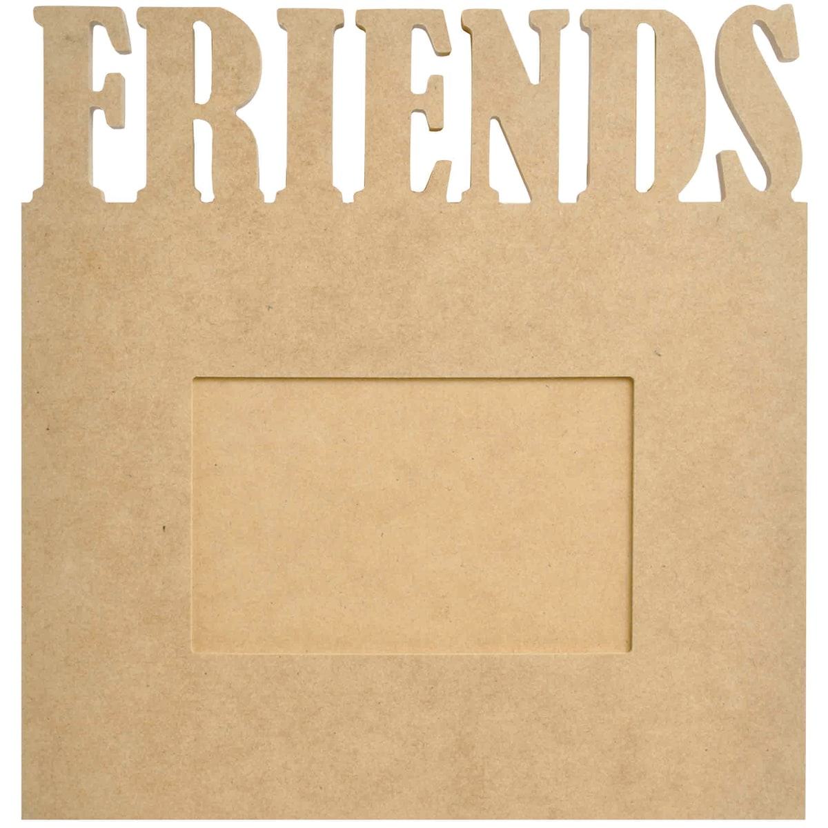 "Beyond The Page MDF Friends Frame-9.5""X10""X.5"""