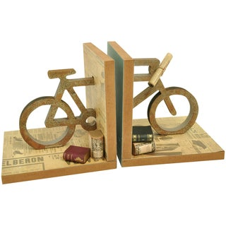 Beyond The Page MDF Bicycle Bookends-5.5
