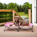 Carlson Portable Pup Large Pink Pet Bed