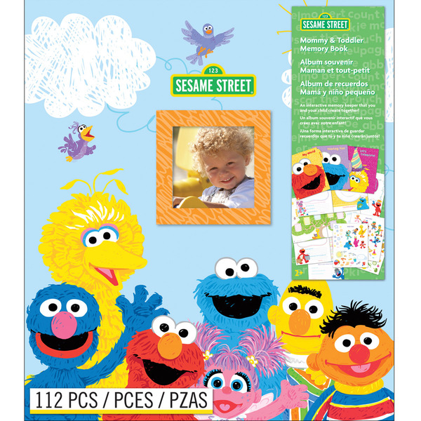 Sesame Street Memory Book-Mommy & Toddler