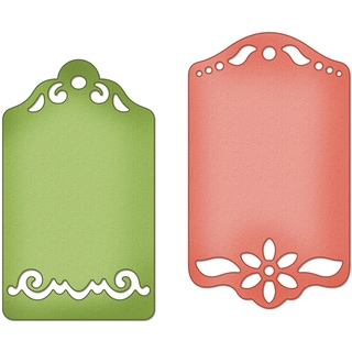 "CottageCutz Die 4""X4""-Tea Time Tags Made Easy"
