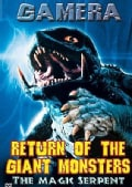 Return of the Giant Monsters: The Magic Serpent (DVD)