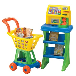 American Plastic Toys Shop'N Pay Market Set