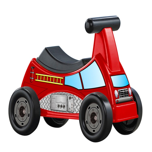 American Plastic Toys Fire Truck Ride-On 9632886