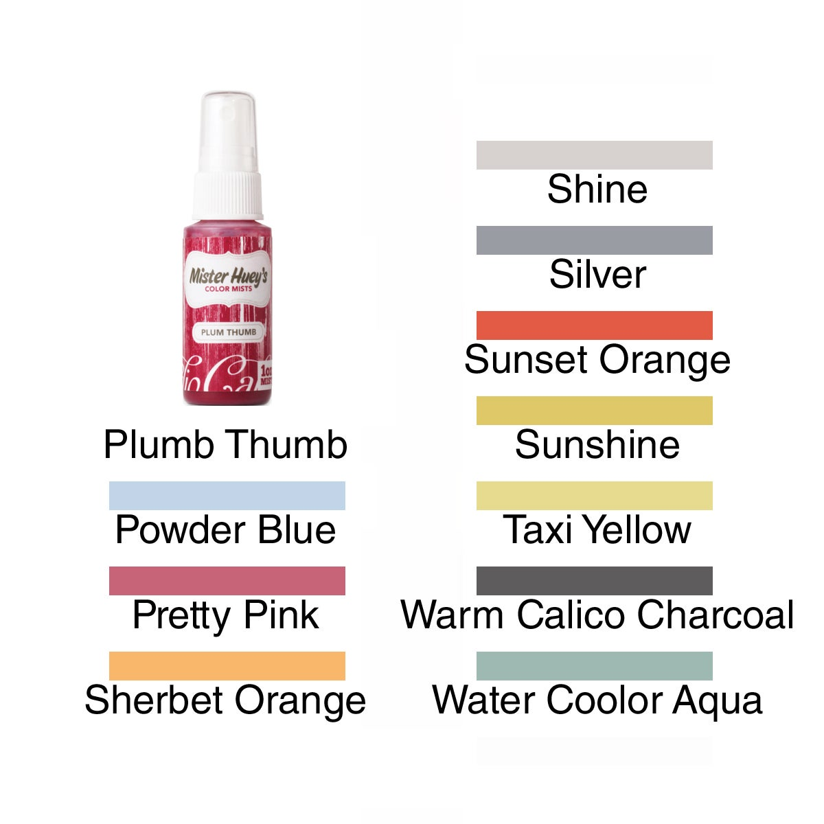 Mister Huey's 1-Ounce Color Misting Spray