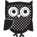 "Mounted Rubber Stamp 1.5""X1.5""-Owl"