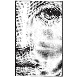 Mounted Rubber Stamp 1.5X1.5-Small Face Frame