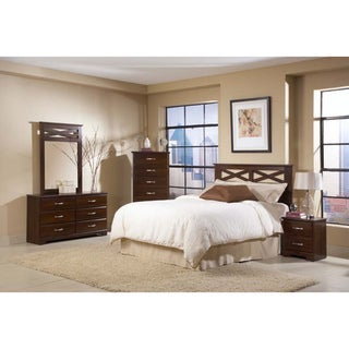 Davenport Full Queen Criss Cross Panel Headboard