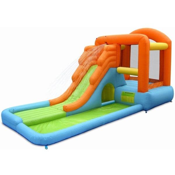 KidWise Malibu Splash Inflatable Bounce 'N Slide Combo