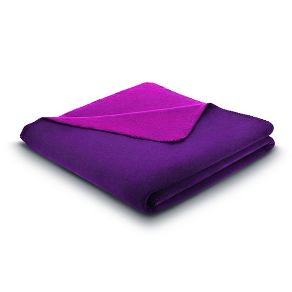 Bocasa Tender Plain Plum/ Passion Blanket