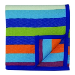 Bocasa Sunrise Striped Blanket