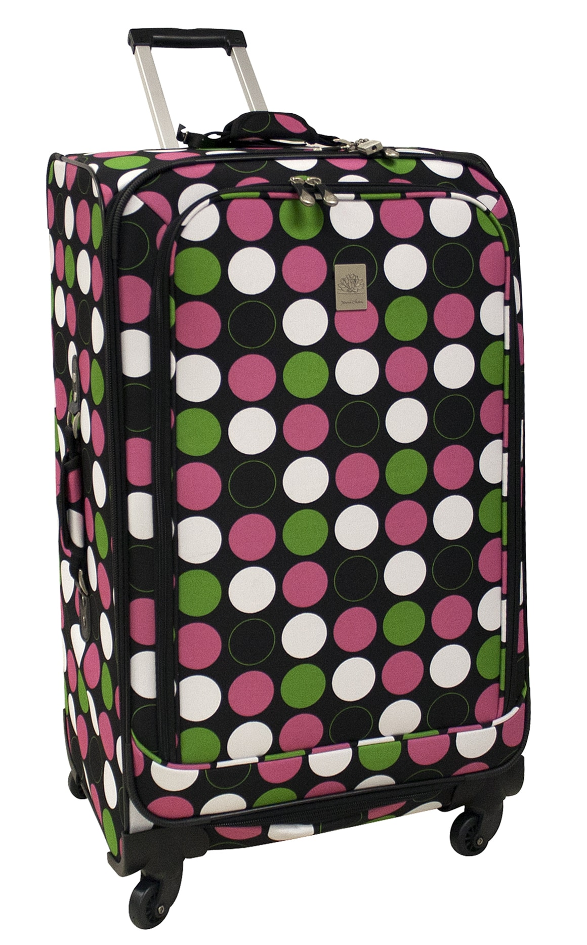 Jenni Chan Multi Dots 28-inch 360 Quattro Spinner Upright