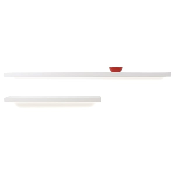 White Lacquer Barney Shelf