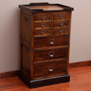 Angela's Jewelry & Lingerie Armoire Chest w/ Open Side (Indonesia)