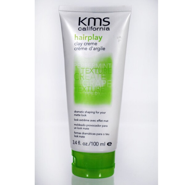 KMS Hairplay 3.4-ounce Clay Creme