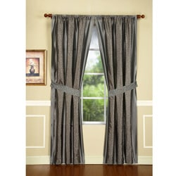 Maxton Mercury 108-Inch Drapery Panel Pair