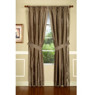 Maxton Sable 95-Inch Drapery Panel Pair