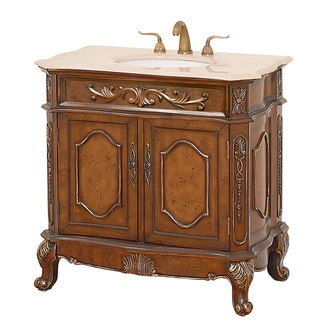 Colby Burl Bathroom Vanity