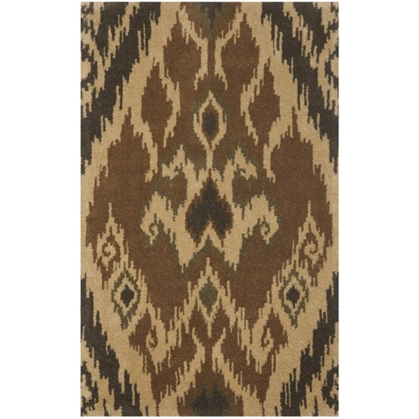 Safavieh Handmade Marrakesh Brown New Zealand Wool Rug (3' x 5')