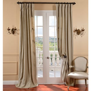 Belgium Linen Natural Curtain Panel
