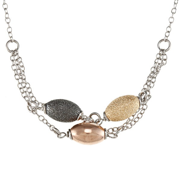 La Preciosa Sterling Silver Multi-chain Necklace