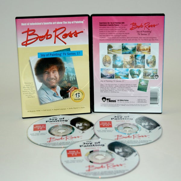 Weber Bob Ross DVD 'Joy of Painting Series' 17