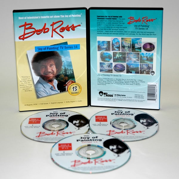 Weber Bob Ross DVD Joy of Painting Series 14. Featuring 13 Shows