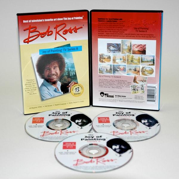 Weber Bob Ross DVD 'Joy of Painting Series' 8