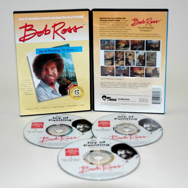 Weber Bob Ross DVD 'Joy of Painting Series' 7
