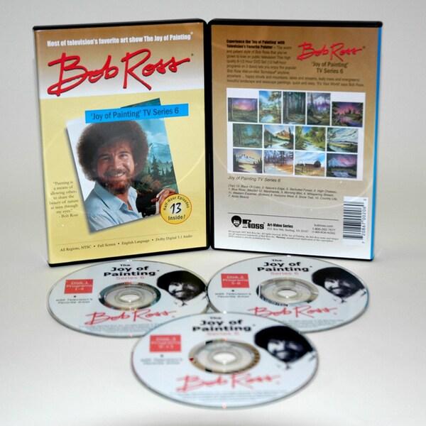 Weber Bob Ross DVD 'Joy of Painting Series' 6