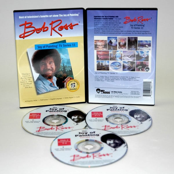 Weber Bob Ross DVD Joy of Painting Series 11