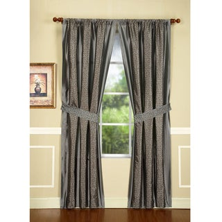 Maxton Mercury 95-Inch Drapery Panel Pair