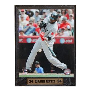 Boston Red Sox David Ortiz Photo Plaque
