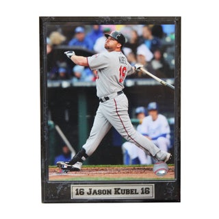 Boston Red Sox Jason Kubel Photo Plaque