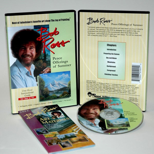 Weber Bob Ross DVD Peace Offerings