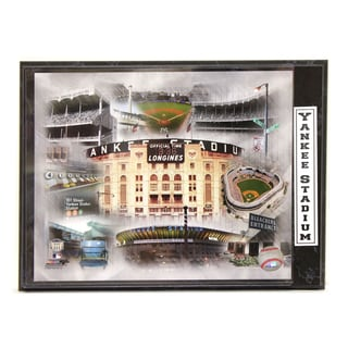Yankee Stadium Photo Plaque