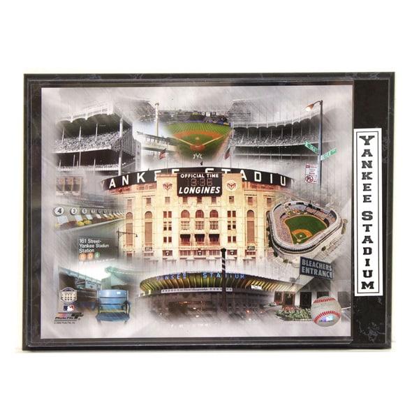 Yankee Stadium Photo Plaque