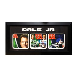 Dale Earnhardt, Jr. 3-photo Frame