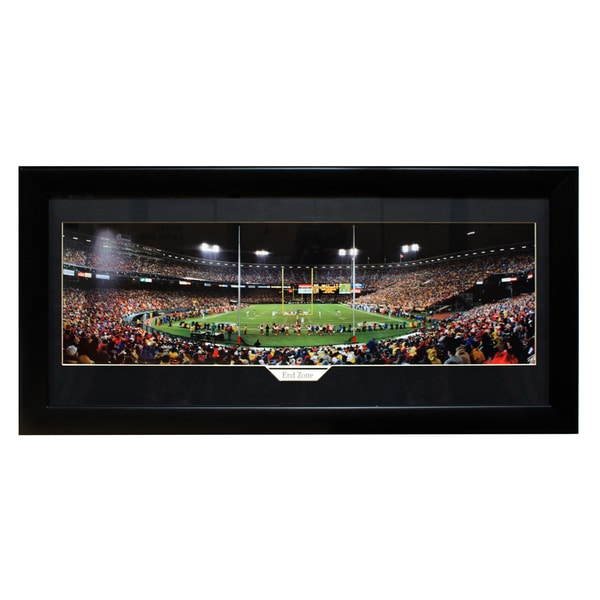 San Francisco 49ers 'End Zone' Panoramic Frame