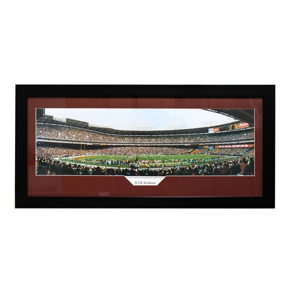 Washington Redskins R.F.K Stadium Panoramic Frame