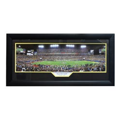 Super Bowl XLIII Panoramic Sports Frame
