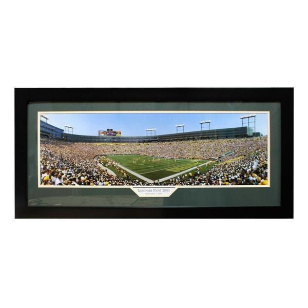 Lambeau Field 2003 Panoramic Frame